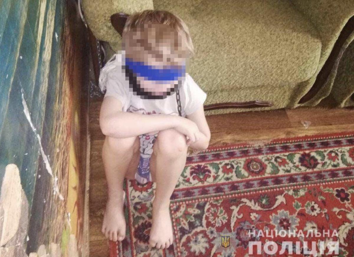 В Днепре женщина издевалась над детьми / фото полиции