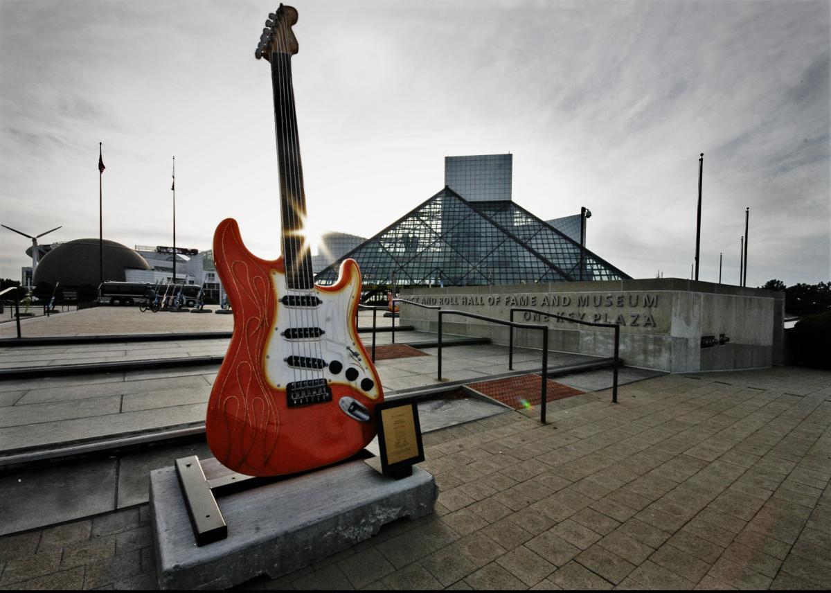 Зал славы рок-н-ролла / фото flickr.com/aaronvandike