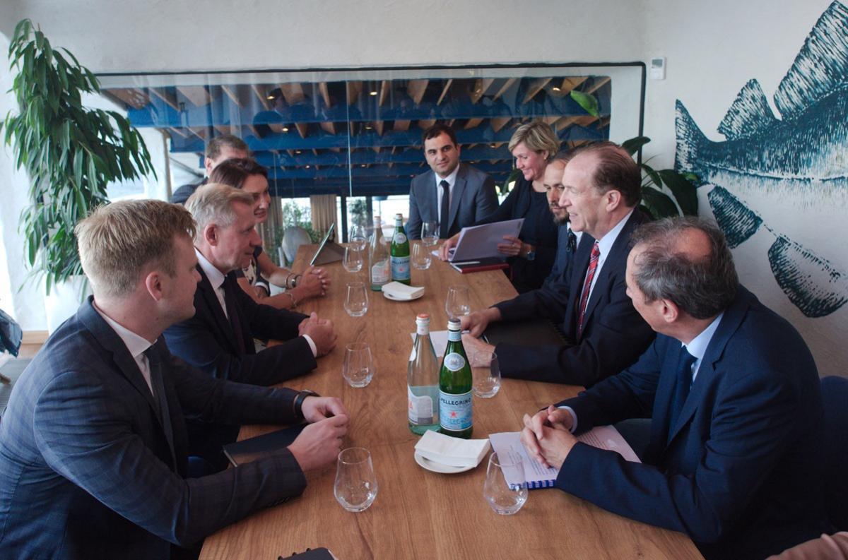 До Україниприїхав президент Світового банку / фото facebook/NationalBankOfUkraine