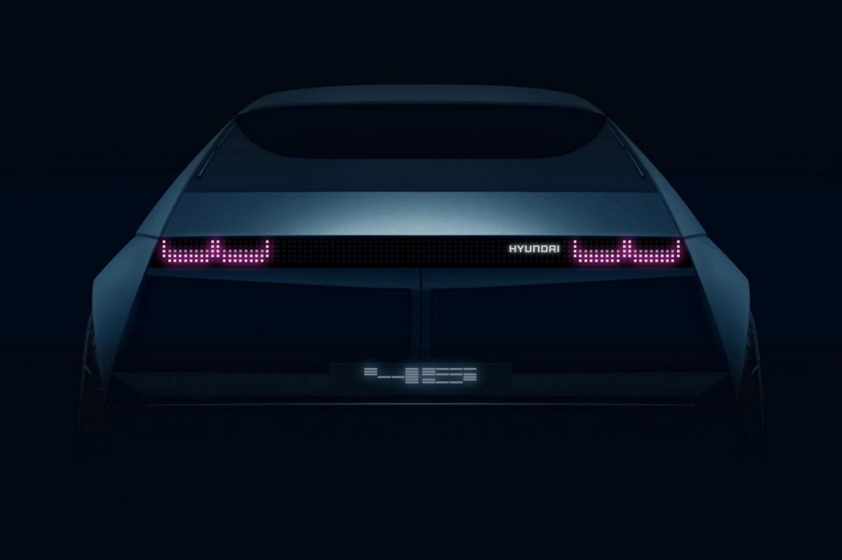 У концепту Hyundai 45 існує прообраз / фото Hyundai