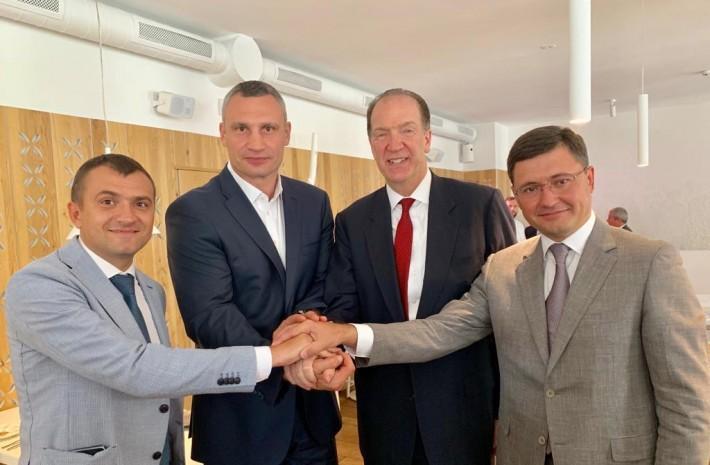 Віталій Кличко зустрівся з президентом Світового банку Девідом Малпассом / kiev.klichko.org