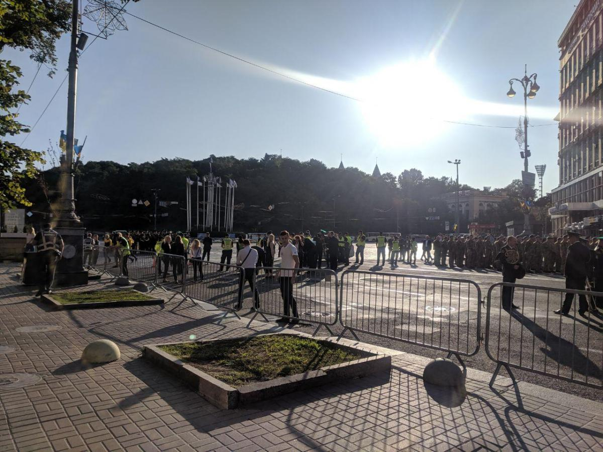Для обеспечения правопорядка в столице привлекут до 3 тысяч правоохранителей/ фото УНИАН