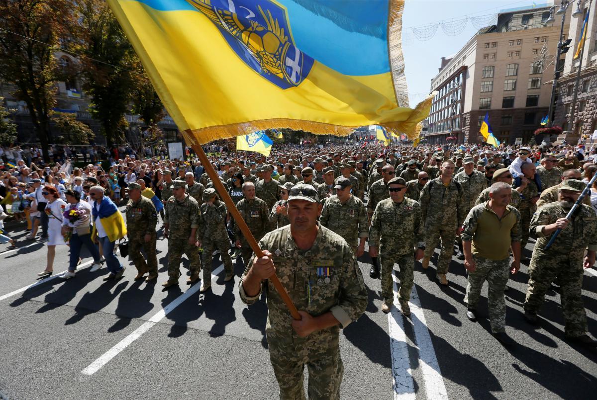 День захисників України 2021 / фото REUTERS