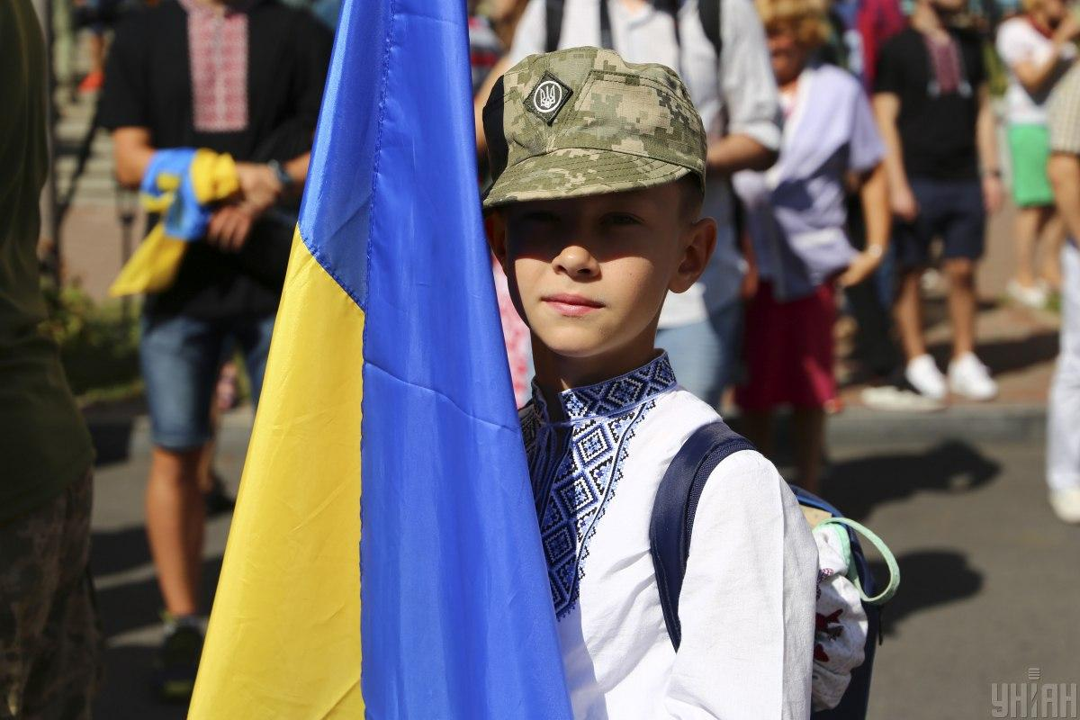 День Незалежності України 2020 - святкування у Києві/фото УНІАН