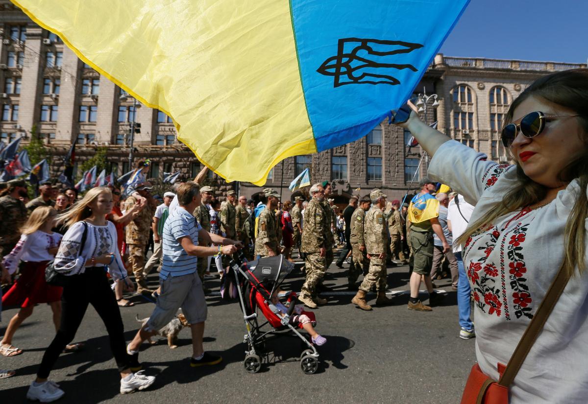 24 августа отмечают День независимости Украины/ фото REUTERS
