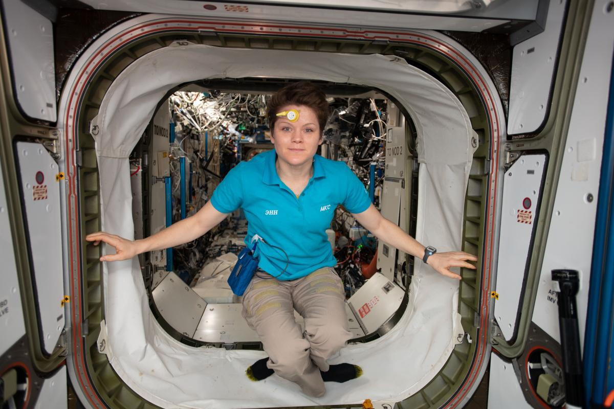 Американский астронавт Энн МакКлейн / фото nasa.gov