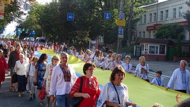 У Хмельницькому відбувся Парад вишиванок / фото Наталя Гарматюк, ye.ua