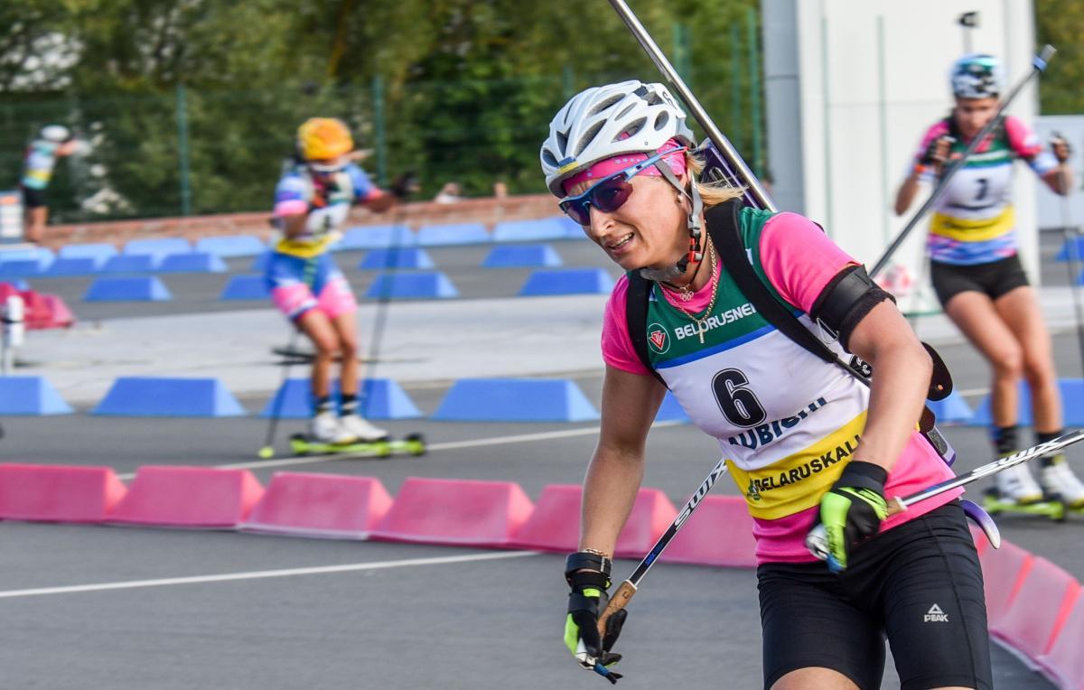 Вита Семеренко завоевала бронзу в гонке преследования / фото: biathlon.com.ua