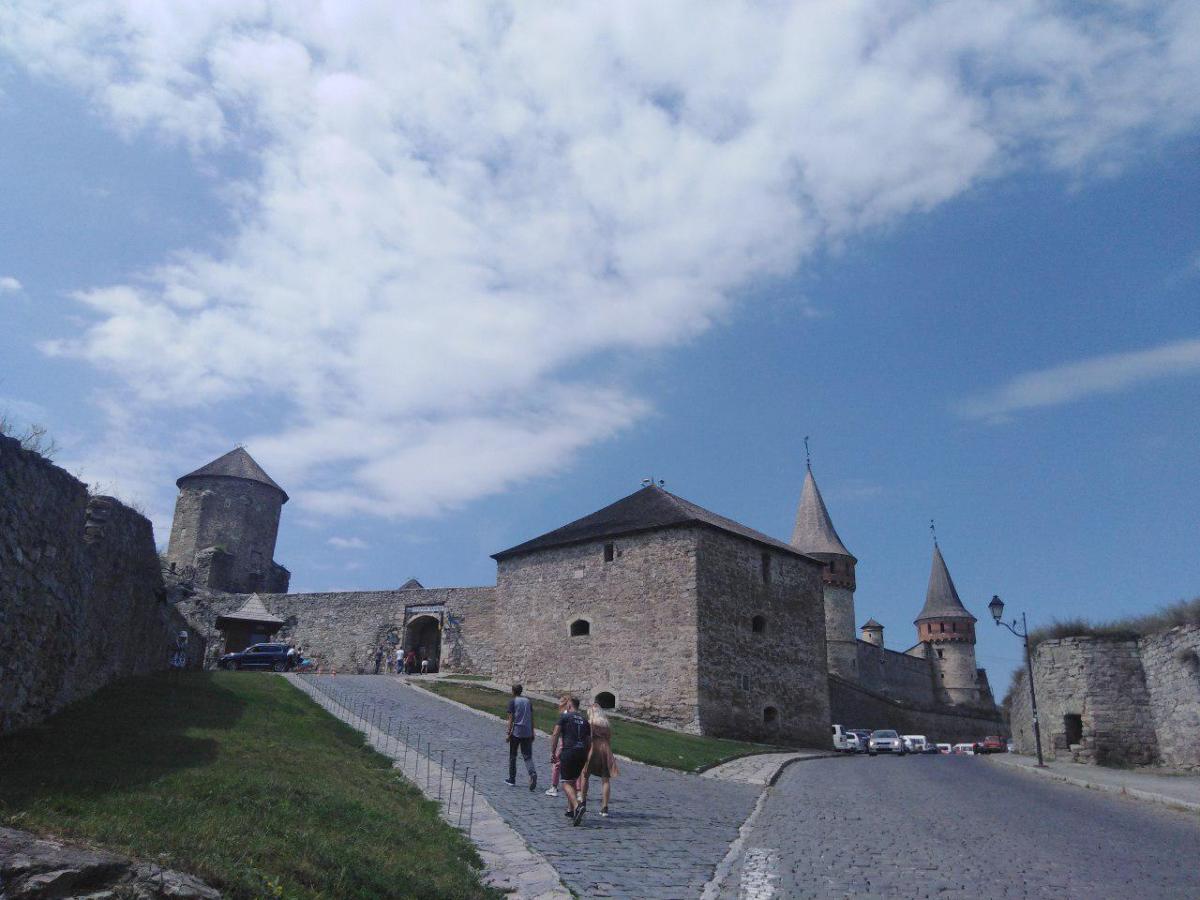 Каменец-Подольская крепость была литовским форпостом, а следующие триста лет принадлежала полякам / фото: Елена Броскова