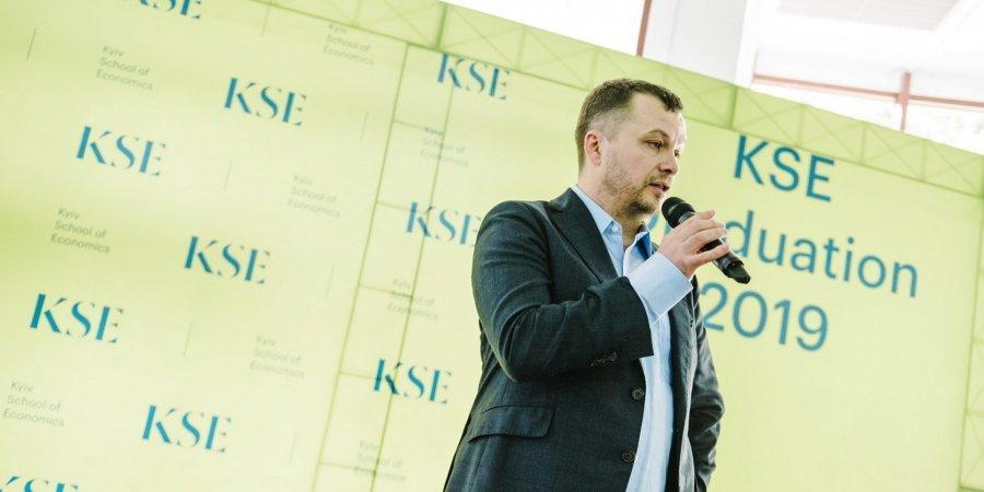 Основний претендент напосаду міністра економіки - Тимофій Милованов / фото Kyiv School of Economics