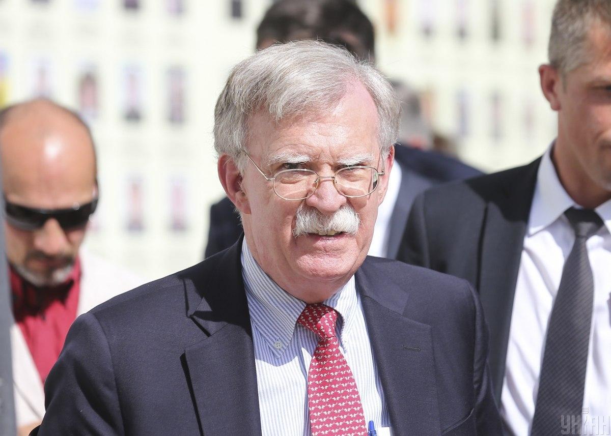 Бывший советник по нацбезопасности США Джон Болтон / Фото УНИАН