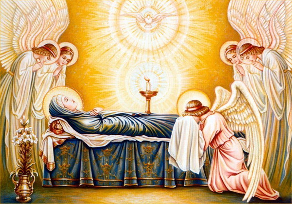Успіння - відхід Божої Матері у вічне життя/ фото:val.ua
