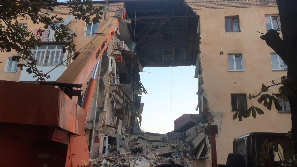 Из-под обломков извлечены тела восьми погибших / Фото: пресс-служба ГСЧС