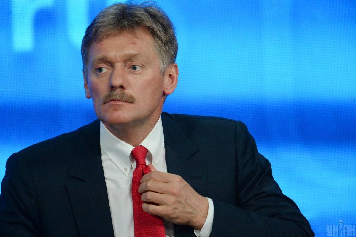 Пєсков підкреслив, що реакція Путіна не залежить від формату зустрічі / УНІАН