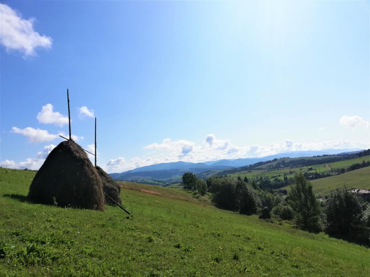 Начало восхождения на Ряпецку / Фото Марина Григоренко
