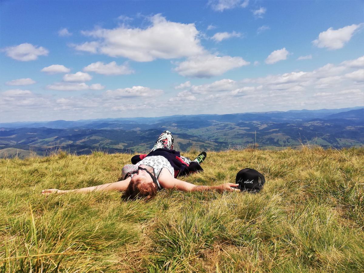 На вершине горы время будто замирает / Фото Марина Григоренко