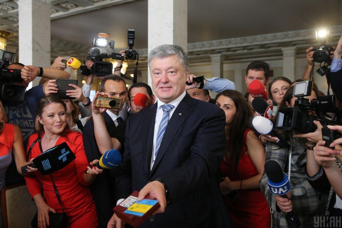 Скорик заявил, что хочет достичь таких же успехов в бизнесе, как и Порошенко / фото - УНИАН