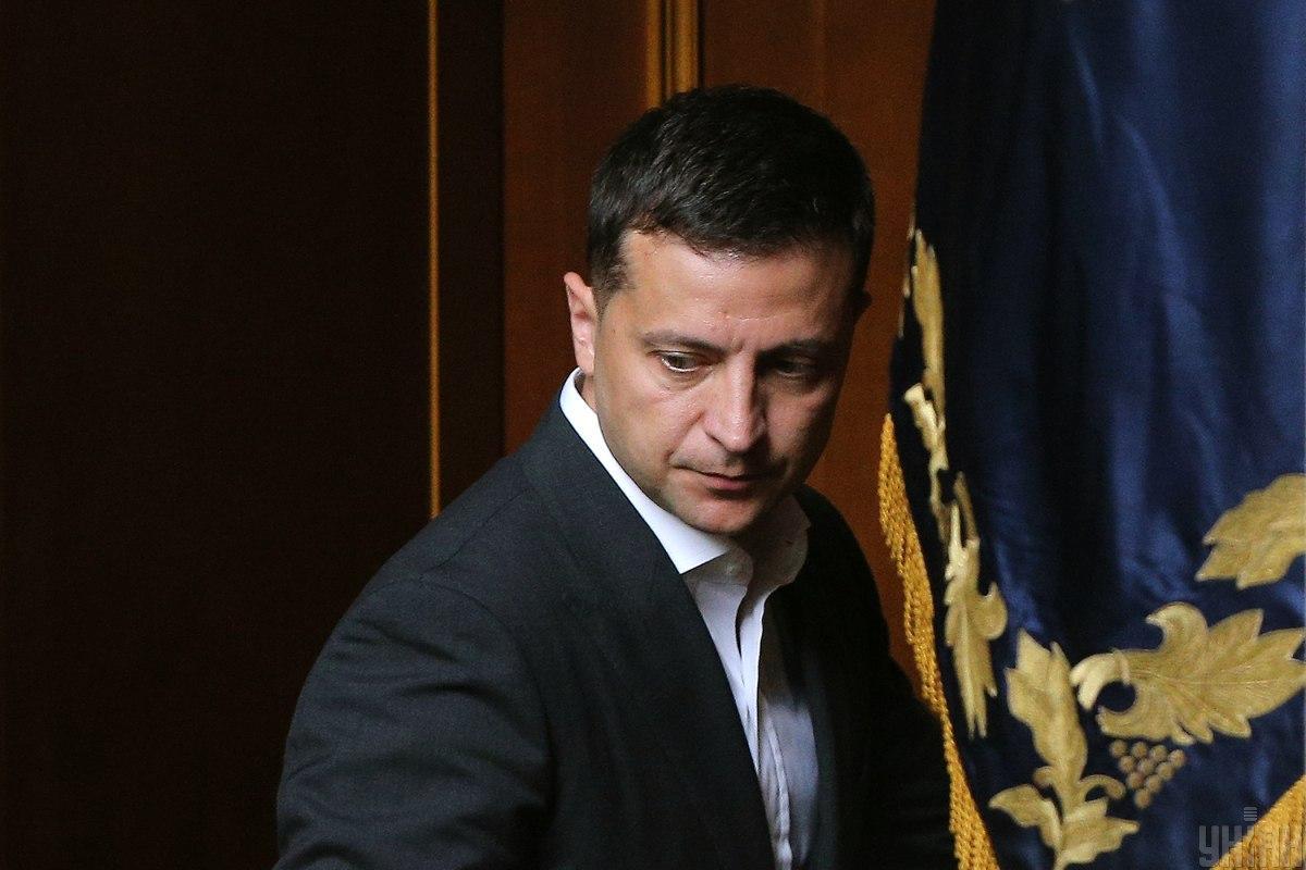 Volodymyr Zelensky / Photo from UNAIN