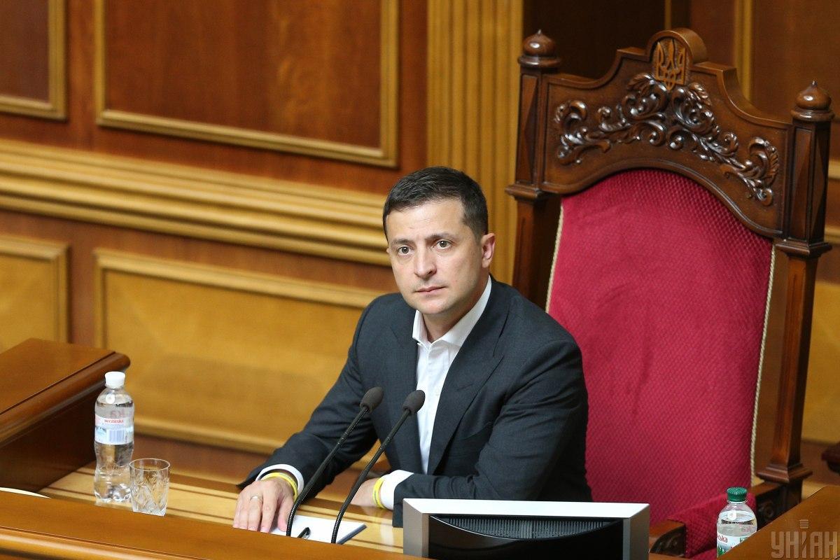 Зеленский сформулировал перечень основных задач для нового парламента и Кабмина / Фото УНИАН