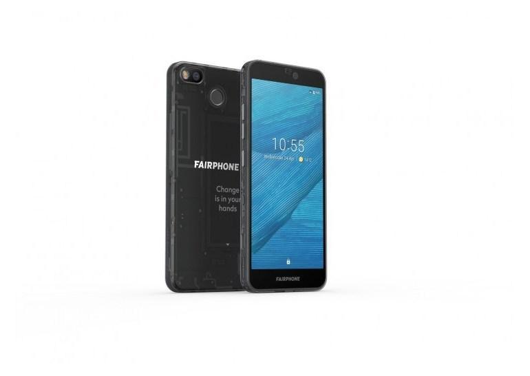 Новый смартфон Fairphone 3 состоит из 7 модулей / фото gsmarena