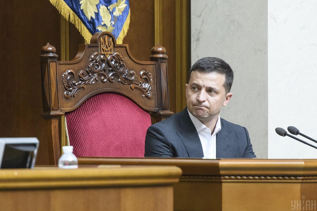 По словам президента, ВР этого созыва войдет в историю / фото УНИАН
