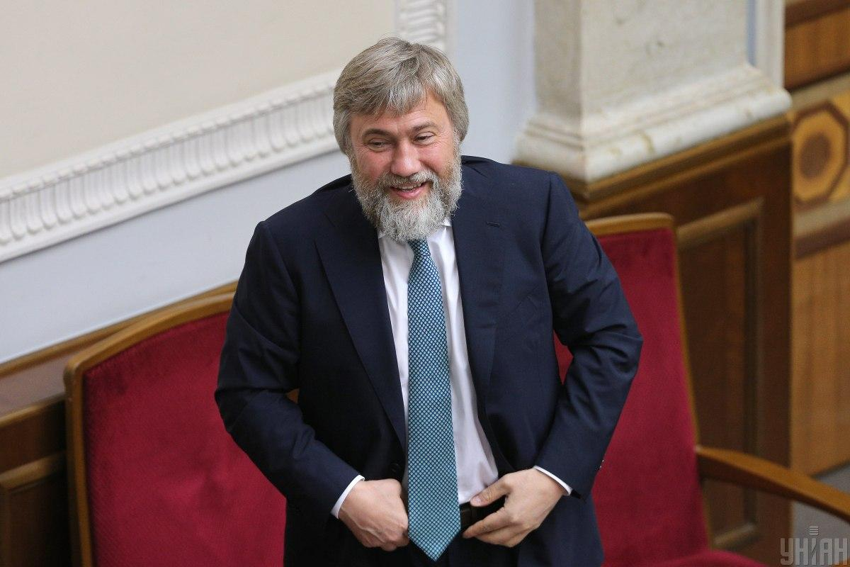 Россия сняла санкции с Новинского / фото УНИАН