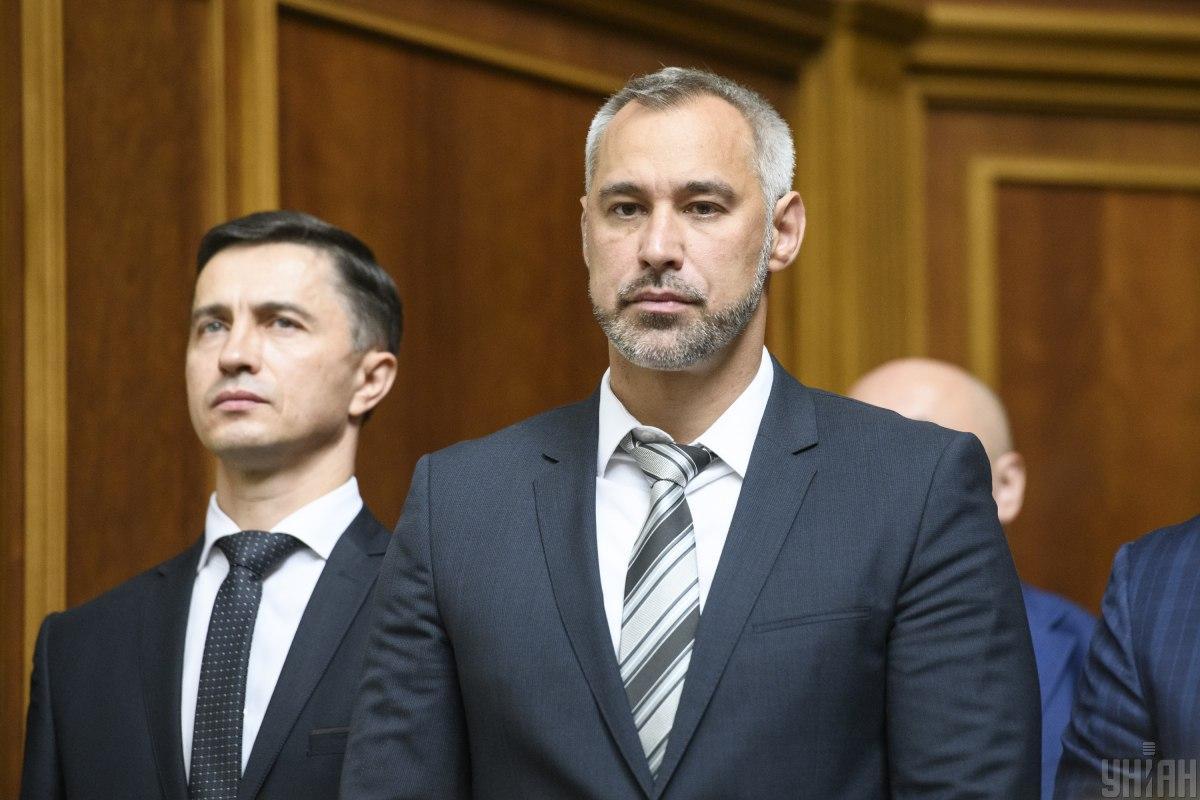 Руслан Рябошапка звільнив Валерія Романова / фото УНІАН