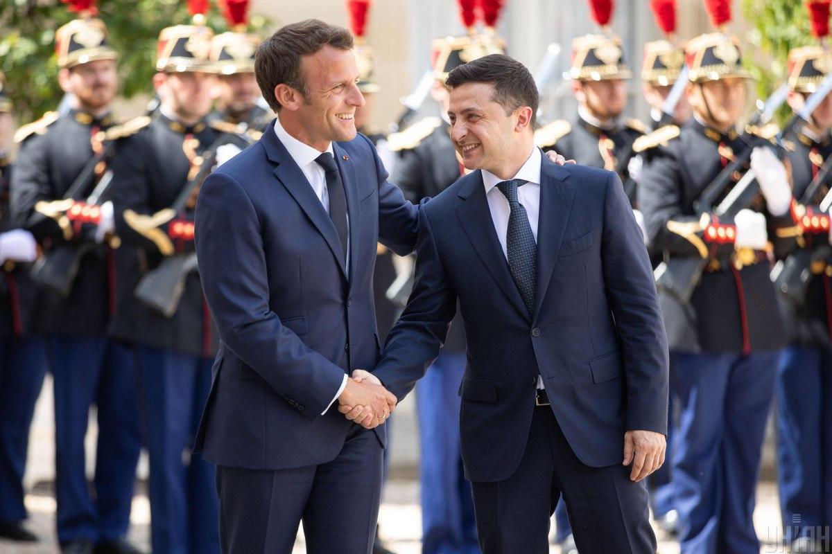 Президент Украины провел телефонный разговор с французским лидером / фото УНИАН