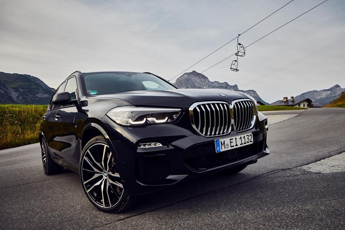 Появился BMW X5 с расходом 1,2 литра / фото BMW
