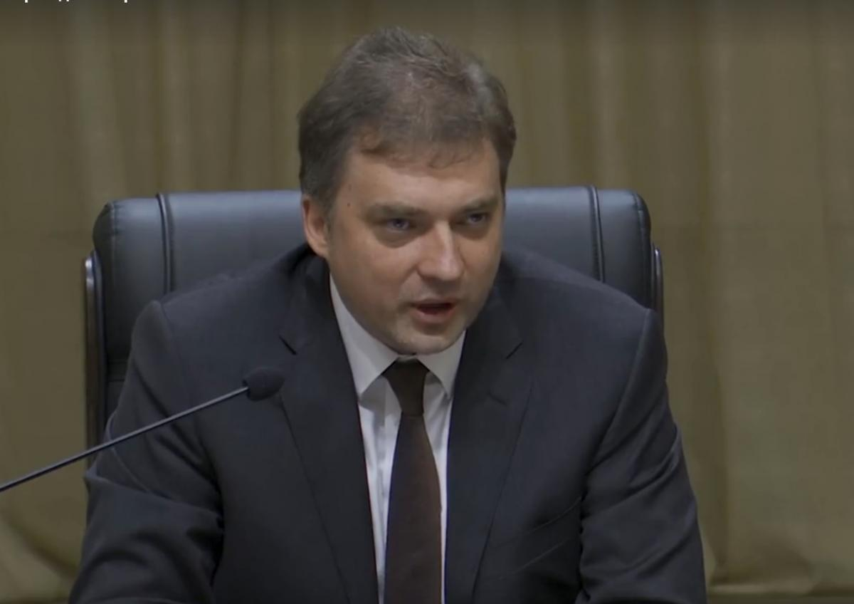 Ukraine's Defense Minister Andriy Zagorodnyuk/screenshot