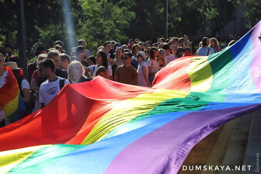 В центре Одессы прошел Марш равенства / фото Думская
