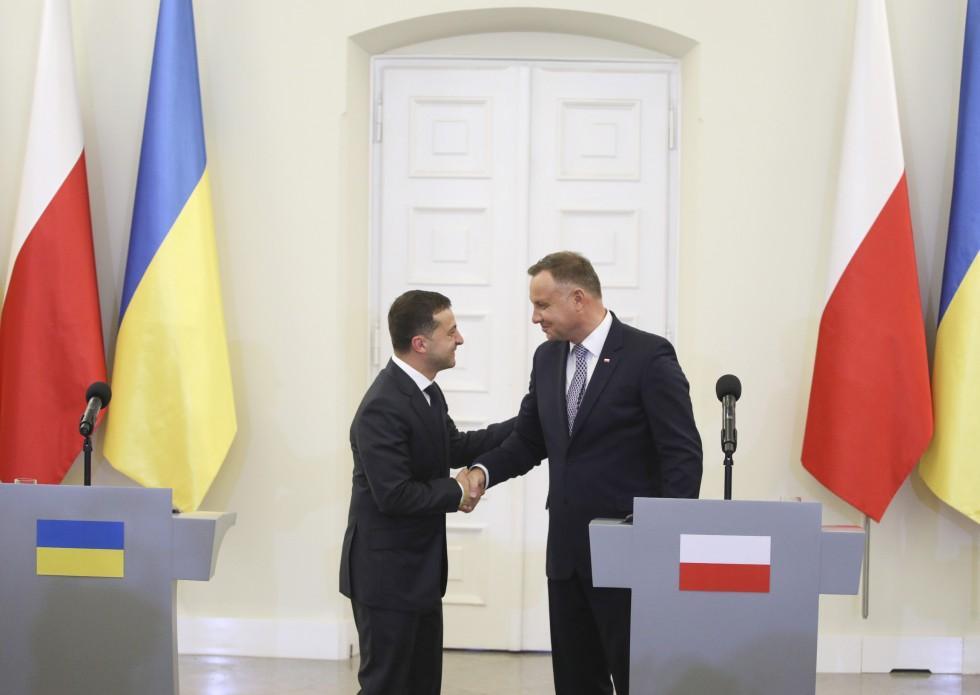 Зеленский и Моравецкий обсудили дальнейшее развитие двусторонних торгово-экономических отношений/ фото president.gov.ua