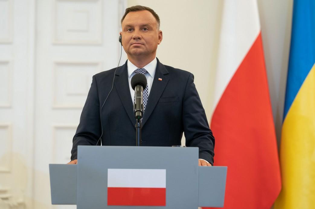 Дуда подчеркнул важность территориальной целостности Украины / фото: president.gov.ua