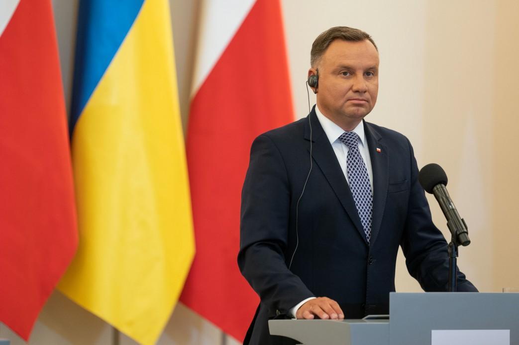 Poland's Duda willvisit Ukraine on October 12-13 / Photo from president.gov.ua