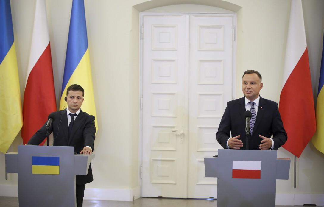 Зеленский пригласил Дуду в Киев / president.gov.ua