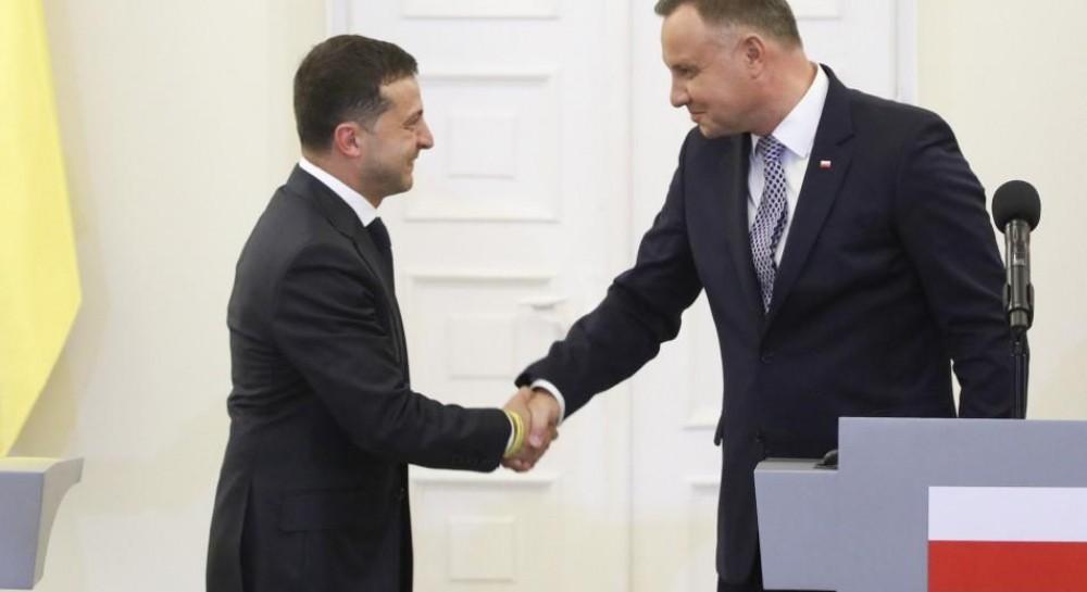 Дуда заявил о предстоящей встрече с Зеленским