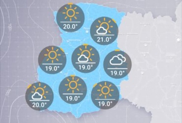 Прогноз погоды в Украине на понедельник, утро 19 августа