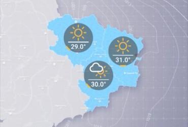 Прогноз погоди погоди в Україні на вівторок, день 20 серпня