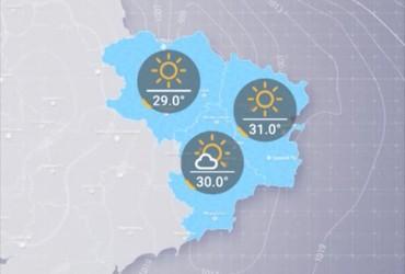 Прогноз погоди в Україні на середу, день 21 серпня