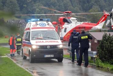 Пять человек погибли в результате удара молнии в Татрах