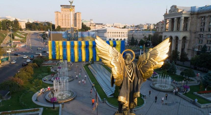 Интеграция РФ и Беларуси: в Киеве состоялась акция в поддержку протестующих в Минске (видео)