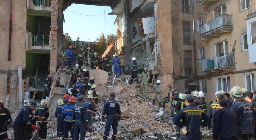 Горсовет Дрогобыча назвал причину обрушения дома, где погибли восемь человек