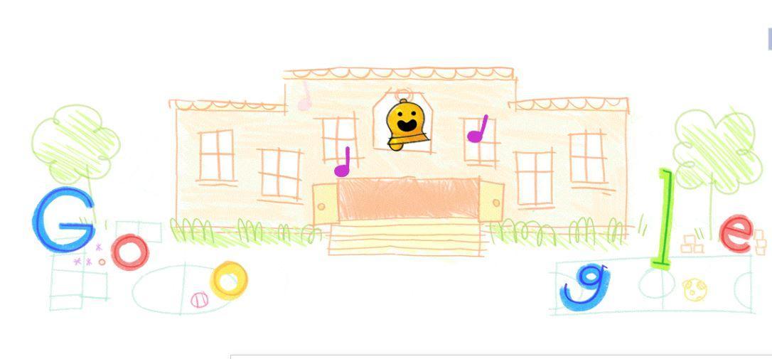 Google привітала учнів та студентів з Днем знань / Google