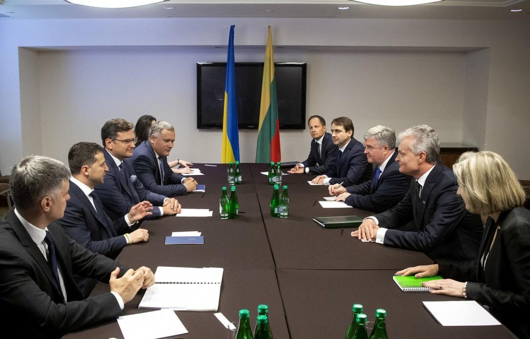 Зеленський провів зустріч із литовським колегою / president.gov.ua