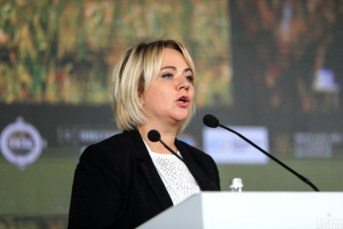 Министр Оксана Коляда подчеркнула, что уровень доказательной базы должен быть абсолютно убедительным / УНИАН