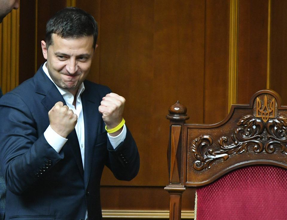 Зеленскому украинцы доверяют больше всего / facebook.com/zelenskiy95