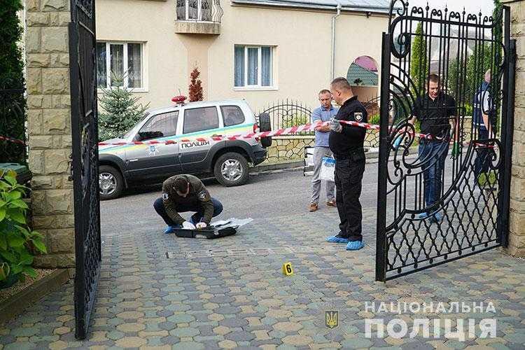 На месте покушения на ректора тернопольского вуза нашли страшную записку / tp.npu.gov.ua