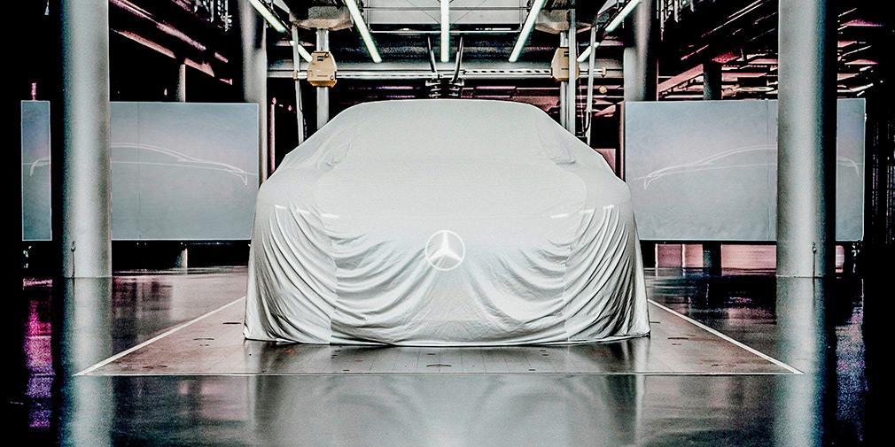 Модель укомплектуют парой электромоторов / фото Mercedes-Benz
