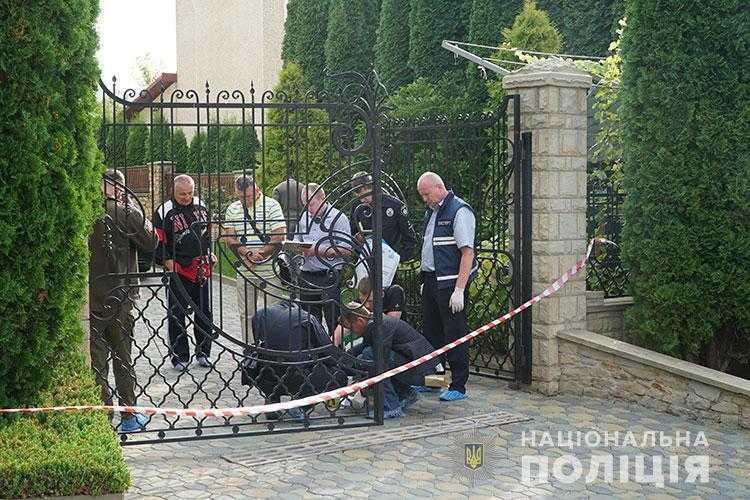 Взрывной предмет был начинен металлическими составляющими / фото ГУ НП в Тернопольской области