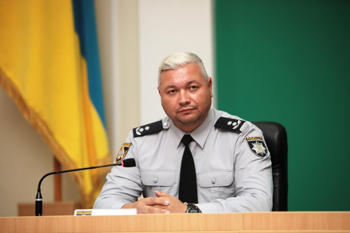 Володимир Огурченко став новим главою поліції Дніпропетровської області / фото поліції